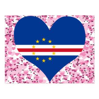 Buy Cape Verde Flag Postcard