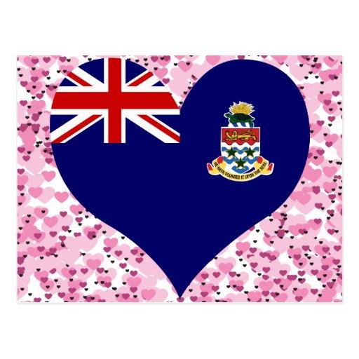 Buy Cayman Islands Flag Postcard