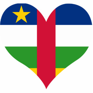 Buy Central African Republic Flag Photo Cutout