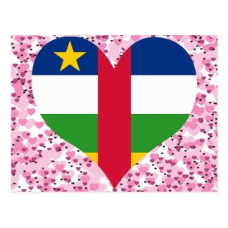 Buy Central African Republic Flag Postcard