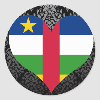 Buy Central African Republic Flag Stickers