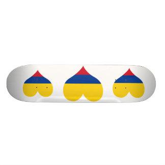 Buy Colombia Flag Skate Board