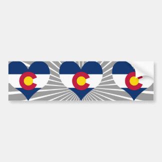 Buy Colorado Flag Bumper Sticker