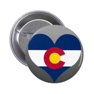 Buy Colorado Flag Pinback Button
