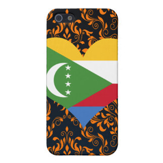 Buy Comoros Flag Cover For iPhone 5