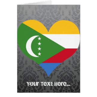 Buy Comoros Flag Greeting Cards
