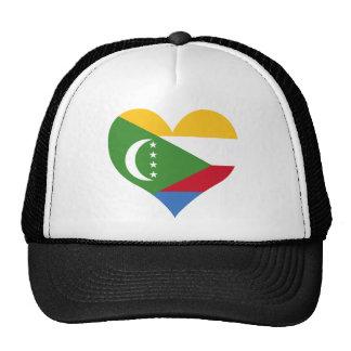 Buy Comoros Flag Mesh Hat
