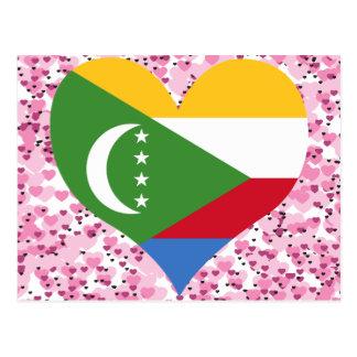 Buy Comoros Flag Post Card