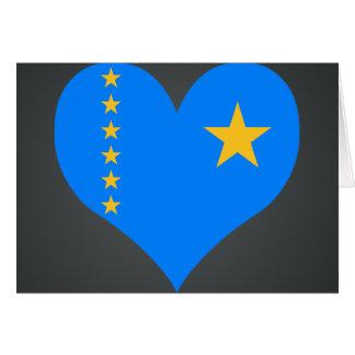 Buy Congo Flag Card