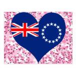 Buy Cook Islands Flag Post Card