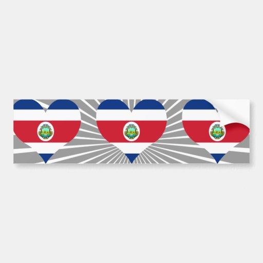 Buy Costa Rica Flag Bumper Stickers