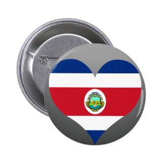 Buy Costa Rica Flag Pinback Button