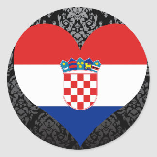 Buy Croatia Flag Classic Round Sticker