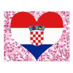 Buy Croatia Flag Postcard