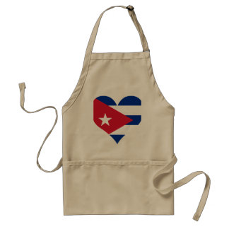 Buy Cuba Flag Apron