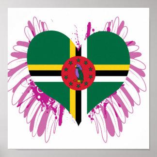 Buy Dominica Flag Print