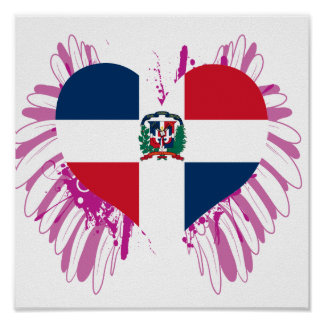 Buy Dominican Republic Flag Posters