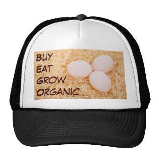 Buy Eat Grow Organic hat