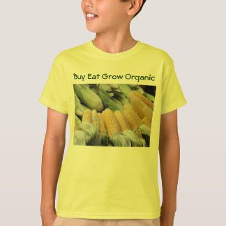 Buy Eat Grow Organic kids shirt