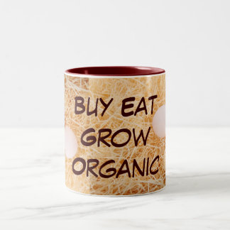 Buy Eat Grow Organic mug