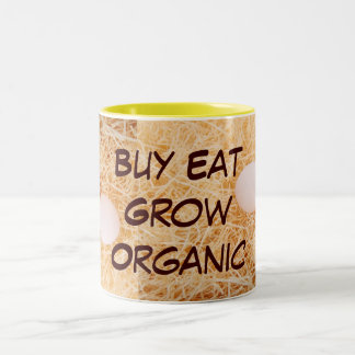Buy Eat Grow Organic mug
