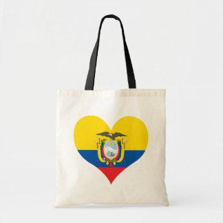 Buy Ecuador Flag Tote Bag