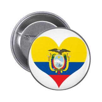 Buy Ecuador Flag Button