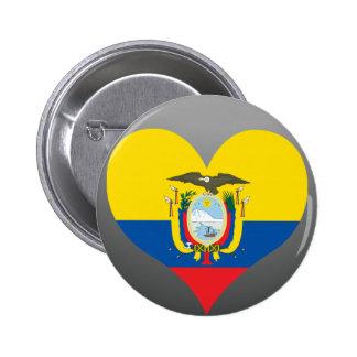 Buy Ecuador Flag Buttons