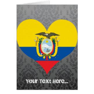 Buy Ecuador Flag Cards