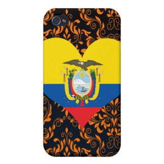 Buy Ecuador Flag iPhone 4 Cases