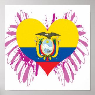 Buy Ecuador Flag Poster