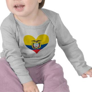 Buy Ecuador Flag Tee Shirts