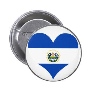 Buy El Salvador Flag Pinback Button