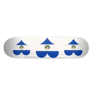 Buy El Salvador Flag Skate Board
