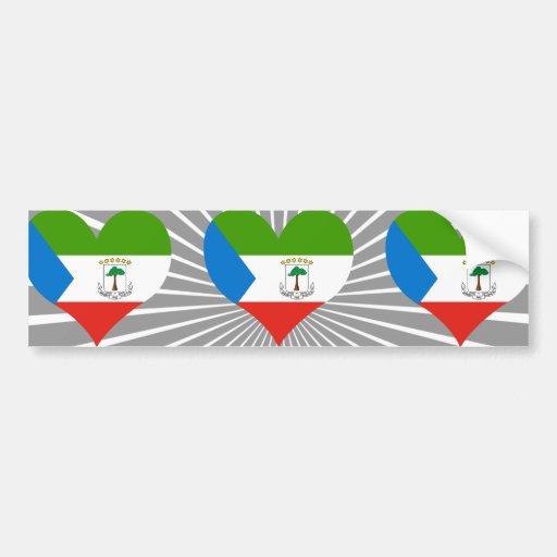 Buy Equatorial Guinea Flag Bumper Sticker