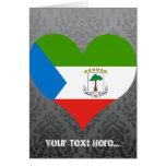 Buy Equatorial Guinea Flag Card