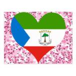 Buy Equatorial Guinea Flag Postcard