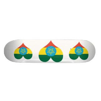 Buy Ethiopia Flag Custom Skate Board
