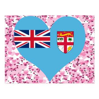 Buy Fiji Flag Postcard