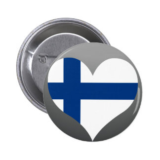 Buy Finland Flag Button