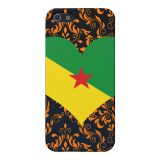 Buy French Guiana Flag Cover For iPhone 5