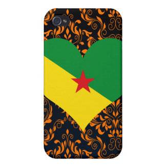 Buy French Guiana Flag iPhone 4/4S Cases