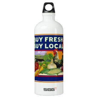 Buy Fresh, Buy Local Water Bottle