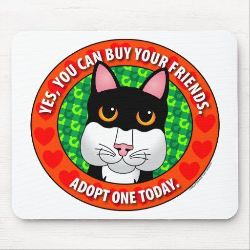 Buy Friends-Cat Mouse Pad