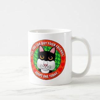 Buy Friends-Cat Mug