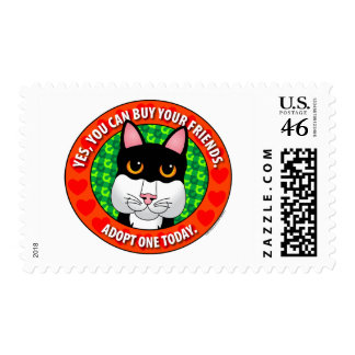 Buy Friends-Cat Postage Stamp