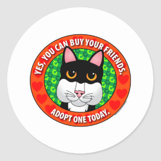 Buy Friends-Cat Stickers