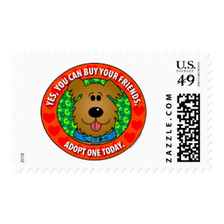 Buy Friends-Dog Stamp