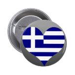 Buy Greece Flag Button