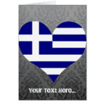 Buy Greece Flag Greeting Card